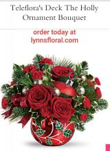 Teleflora Deck the Holiday Ornament