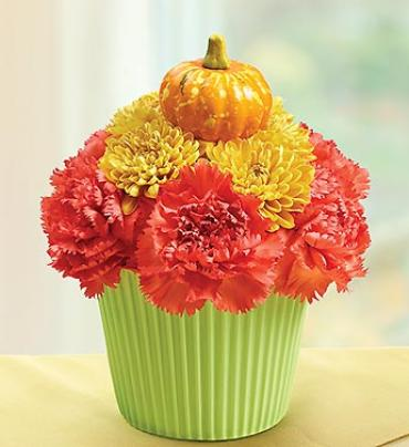 Cupcake in Bloom for Fall