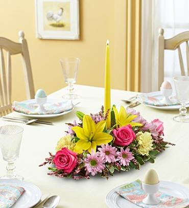 "Fields of Europeâ""¢ for Spring Centerpiece"