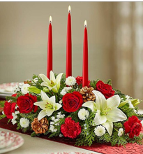 Beautiful Christmas Centerpiece